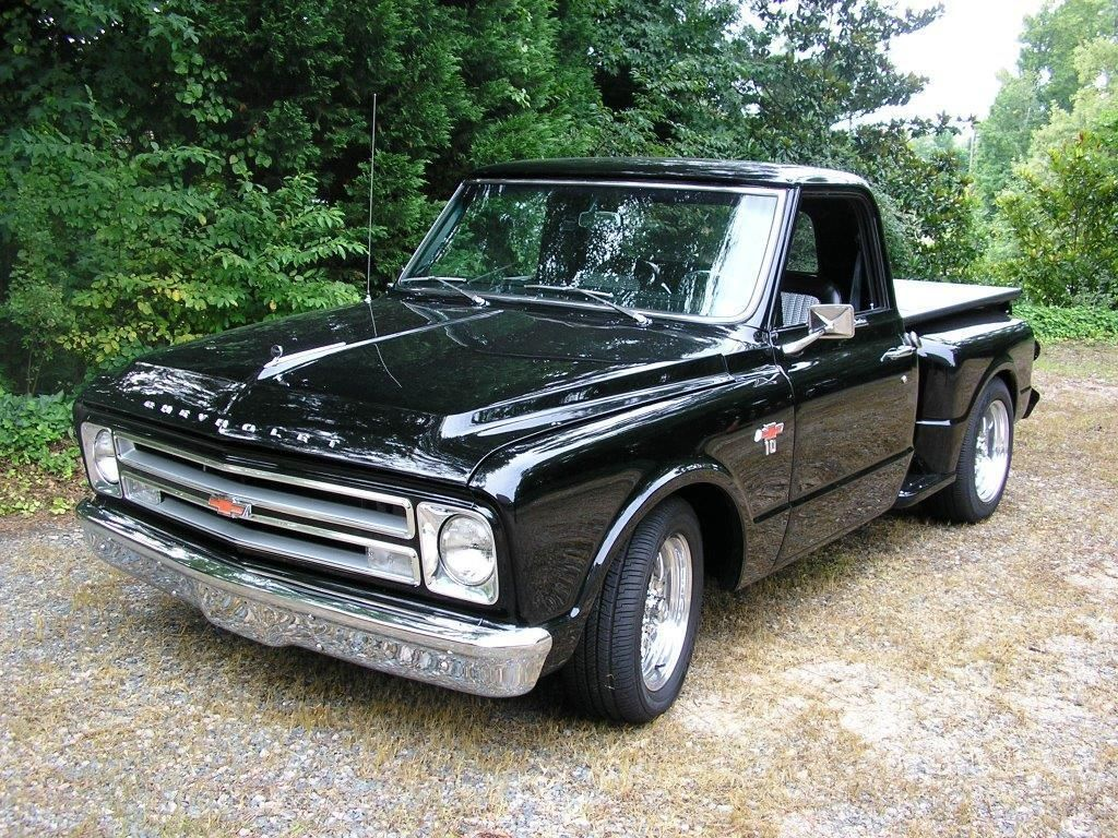 1967 Chevrolet C 10 2 Door Stepside Ebay Chevy Stepside Chevy Trucks Custom Chevy Trucks