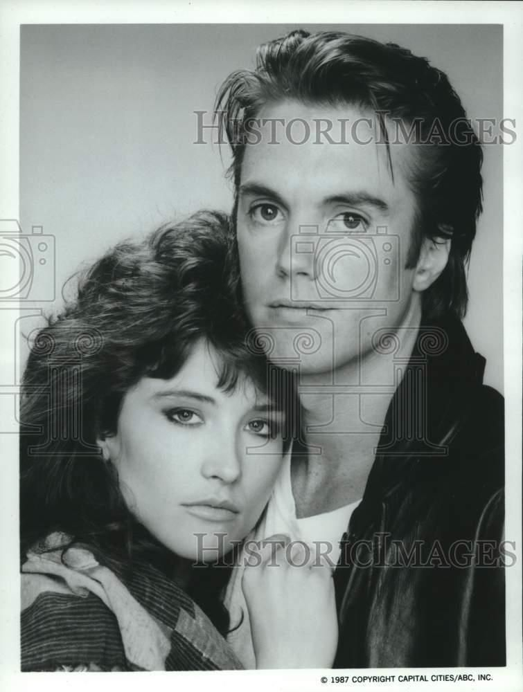 eBay #Sponsored 1987 Press Photo Robyn Bernard and Shaun