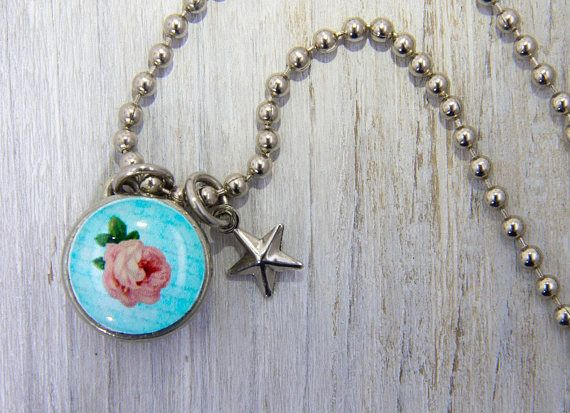 Vintage rose charm kids jewelry girls necklaces girls pendants vintage rose charm kids jewelry girls necklaces girls pendants girls bracelets aloadofball Images