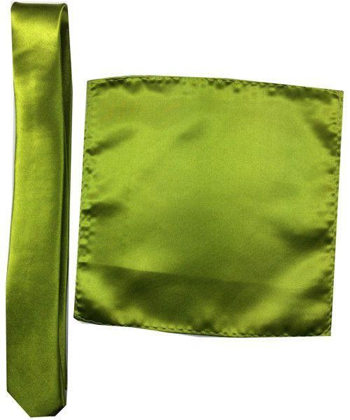 Satin Pocket Square Necktie