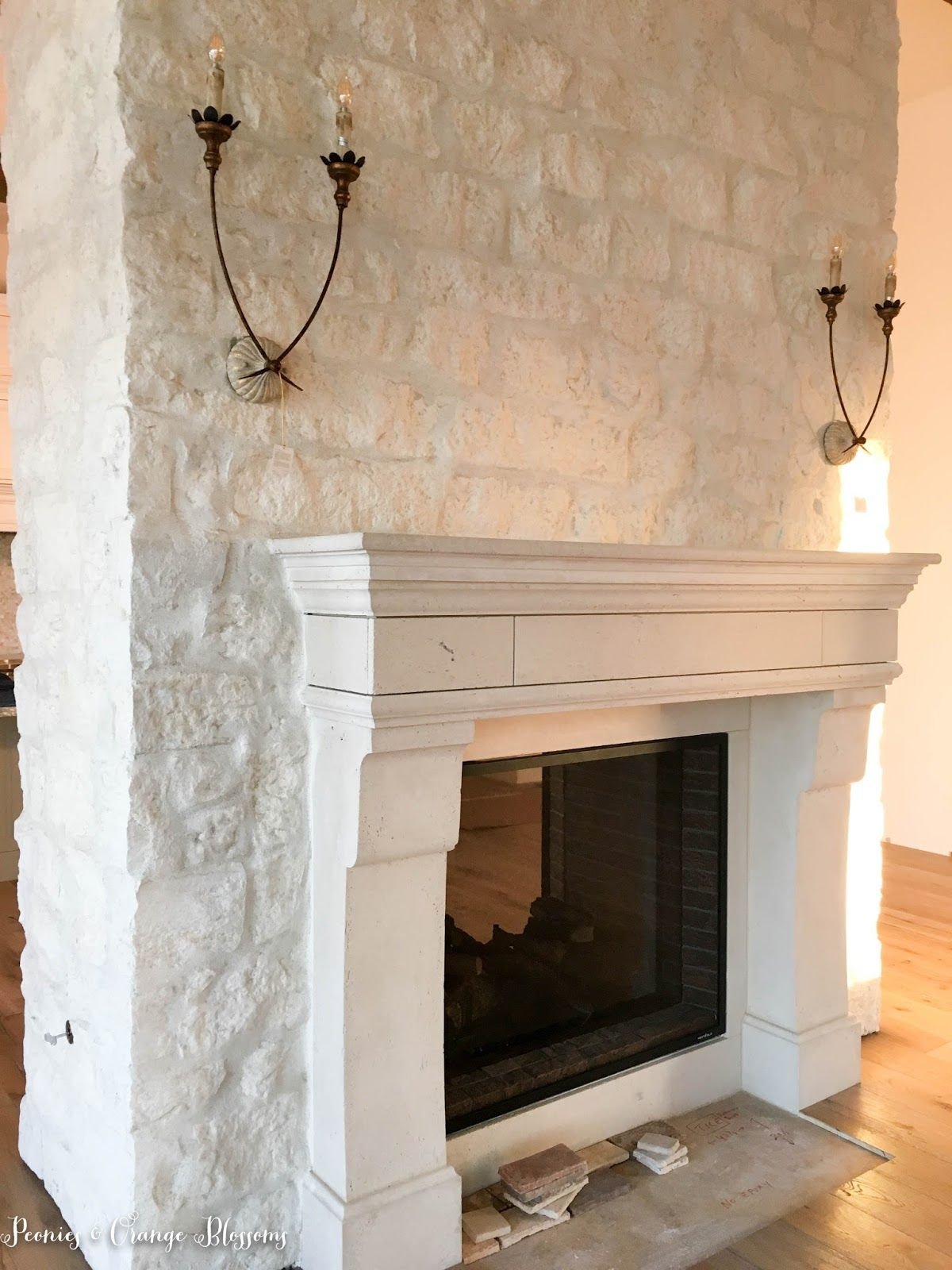 french country farmhouse october updates petite haus fireplace