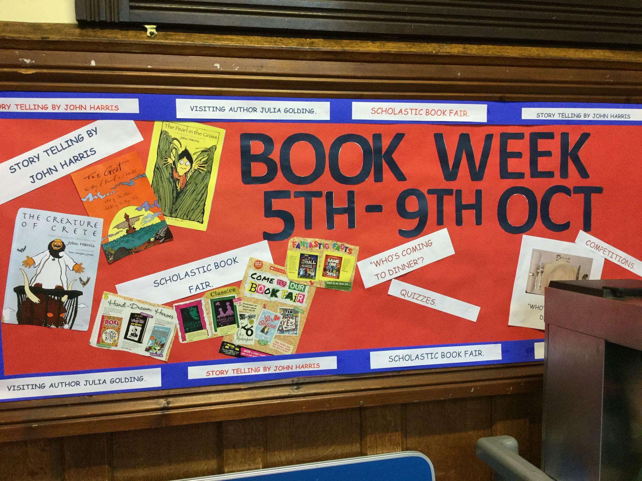 BIlton Grange Book week 2015