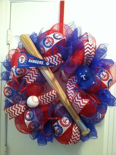 texas rangers wreath - Google Search