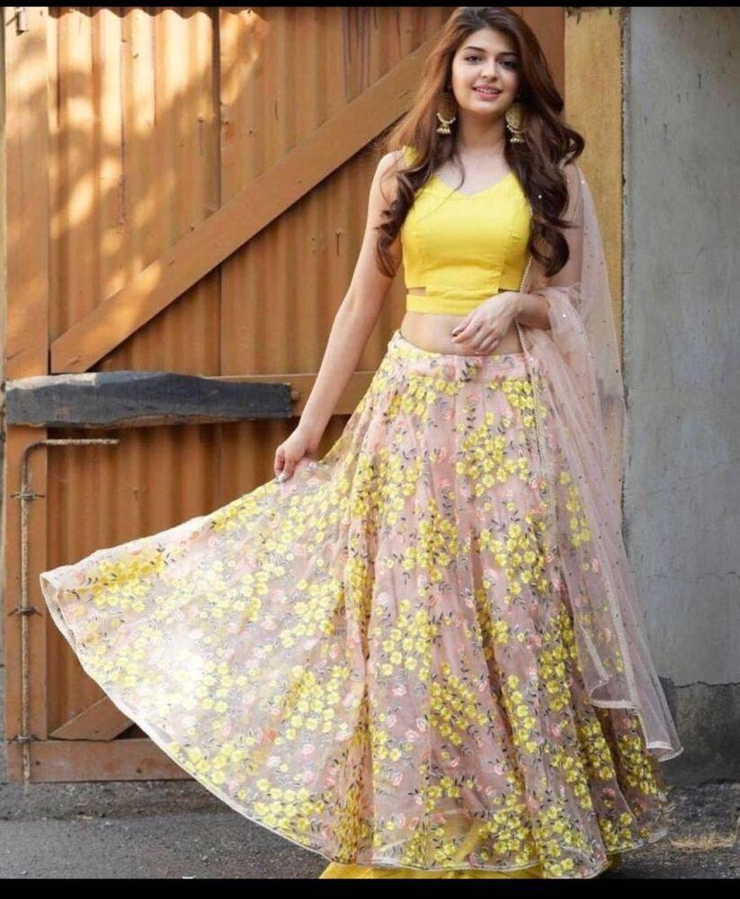 4f8a37e705 PAKISTANI BRIDAL LEHENGA CHOLI INDIAN DESIGNER WEDDING PARTY WEAR LEHENGA  C86