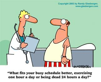 How To Get An Hour Of Exercise A Day