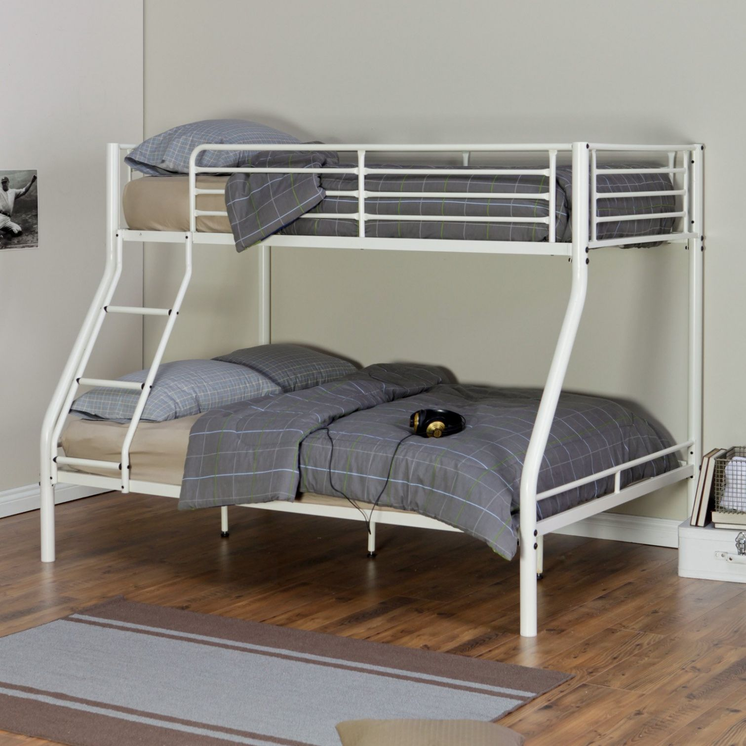 White Metal Twin Over Full Bunk Bed Most Por Interior Paint Colors Check More At Http Billiepiperfan