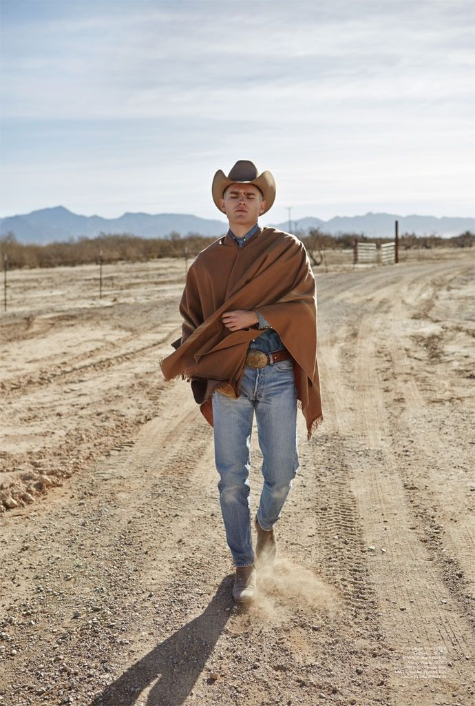 Western Style Bo Develius Embraces Cowboy Fashions For Summerwinter Cowboys