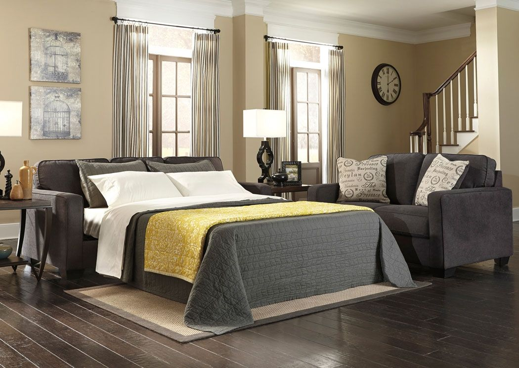 Furniture Liquidators Home Center Alenya Charcoal Queen Sofa Sleeper Furniture  Liquidators Home Center Louisville Ky