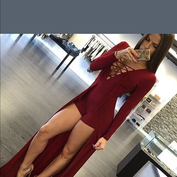 Adorable outfit. Red dress with shorts attached. NWT | Sleeved ...