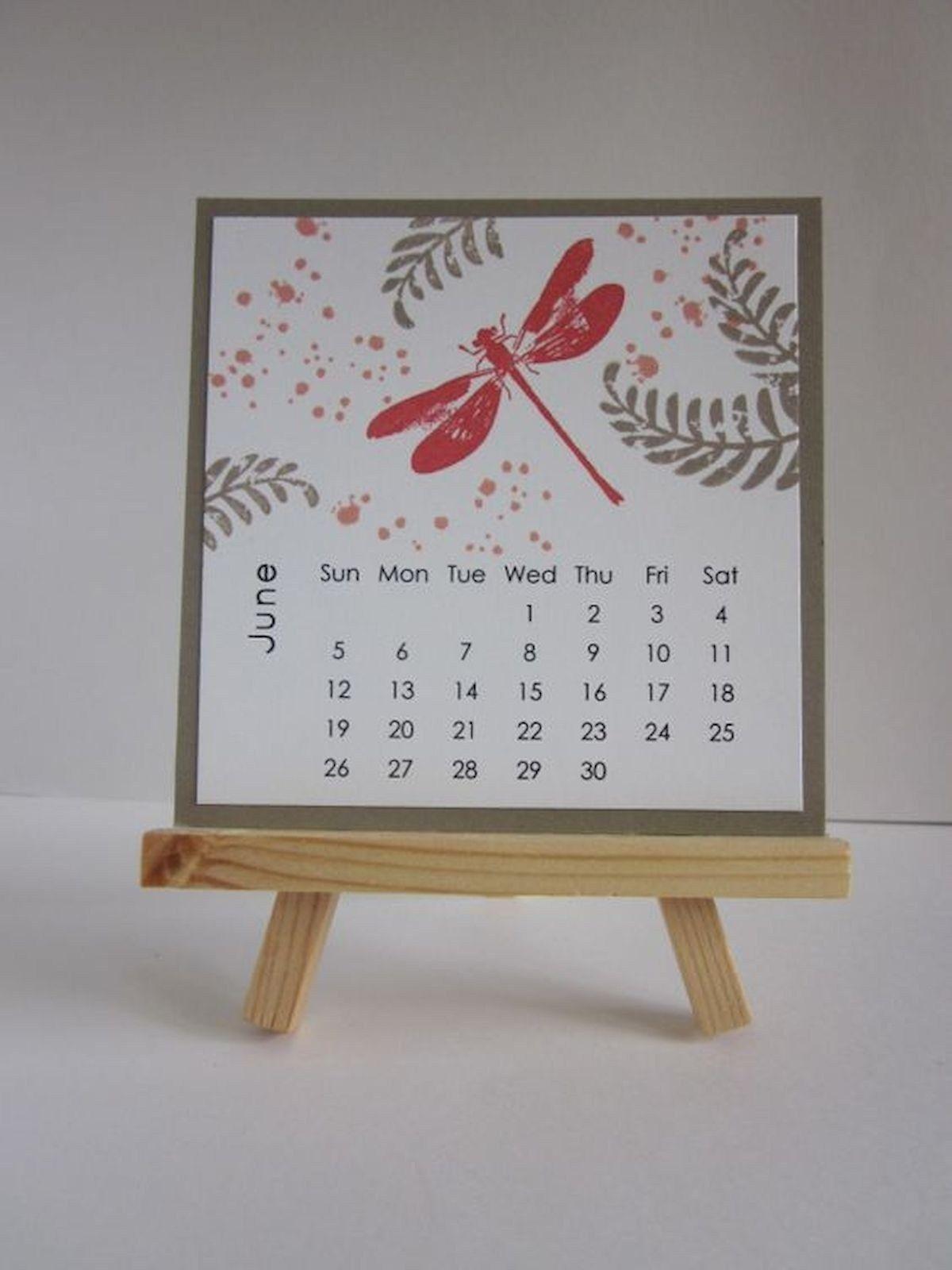 35 Gorgeous Diy Desk Calendar Ideas 29 Diy 35 Gorgeous Diy