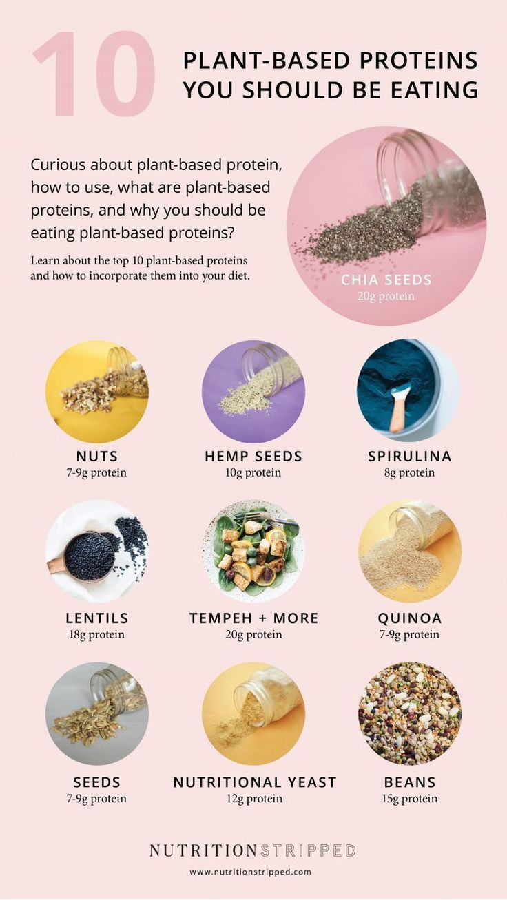 10 PlantBased Protein Sources You Should be Eating   Nutrition Stripped Vegan nutrition, Nutrition stripped, Plant based protein sources, Nutrition recipes, Diet and nutrition, Nutrition chart - 10 PlantBased Protein Sources You Should be Eating   Nutrition Stripped -