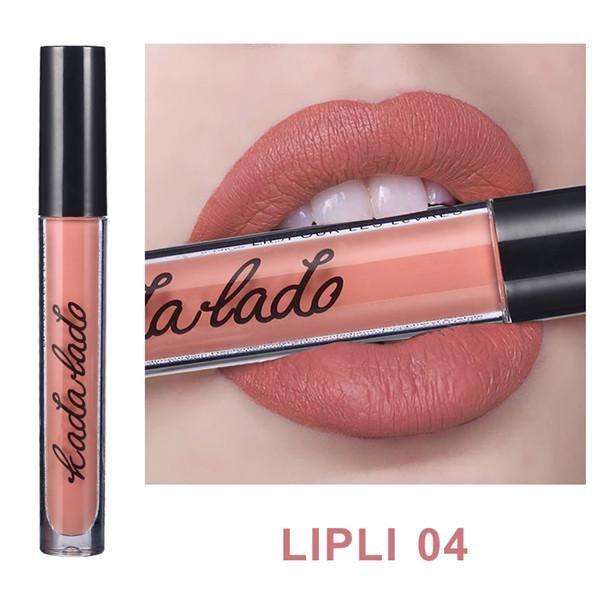 1 Pc Hot Fashion Waterproof Matte Lipstick Long Lasting Liquid Lipstick Lip Gloss Lipgloss Lip Tint Kit Makeup Cosmetic