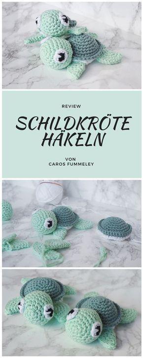 Häkeln Amigurumi Turtle - Caros Fummeley - - Babykleidung - Agli #knittedtoys