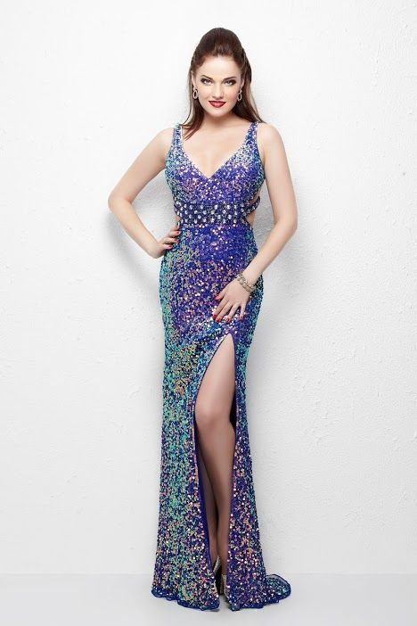 Primavera Couture Prom dress 1147_BLUE | It\'s all about the dress ...