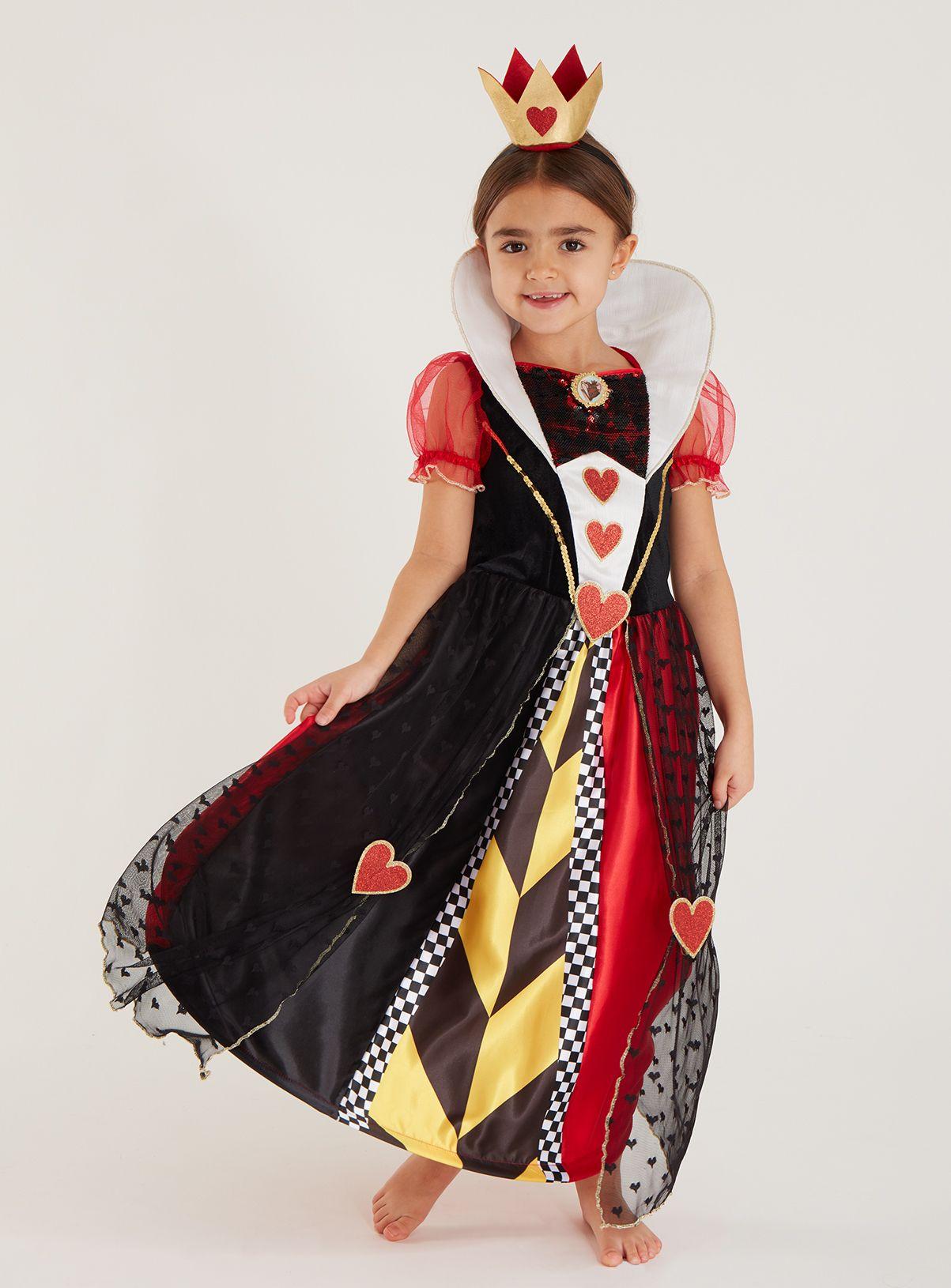 Disney Multicoloured Queen Of Hearts Costume (310 Years