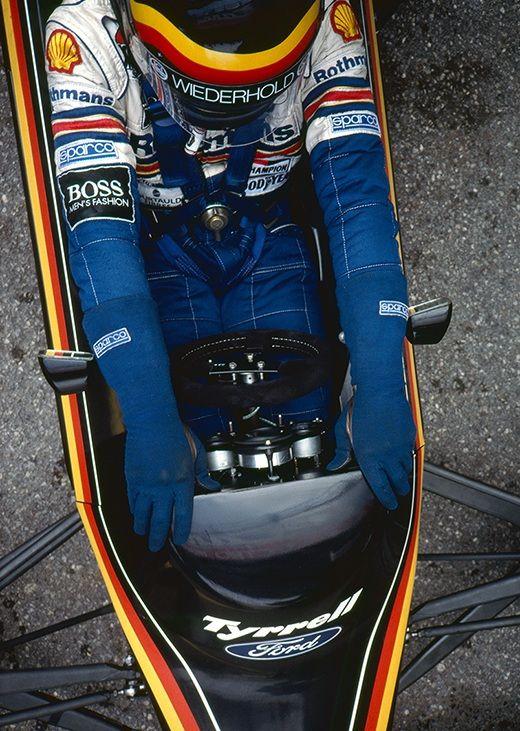 Stefan Bellof, Tyrrell-Ford 012, 1984
