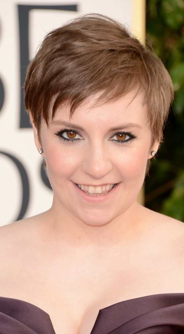 7 Lena Dunham 9 Celebrities Who Tried A Pixie Cut Hair