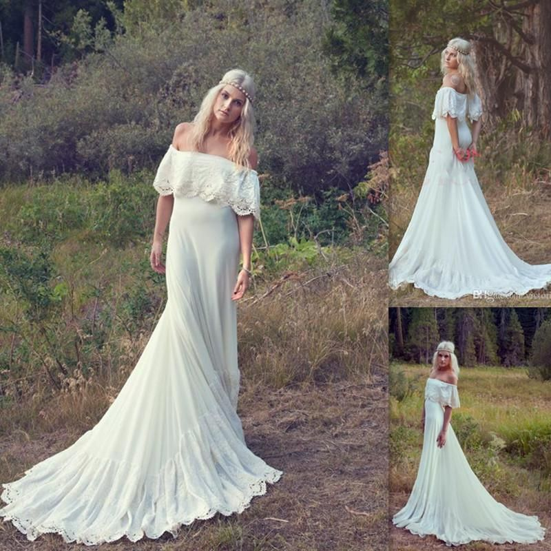 2015-bohemian-wedding-dresses-off-the-shoulder
