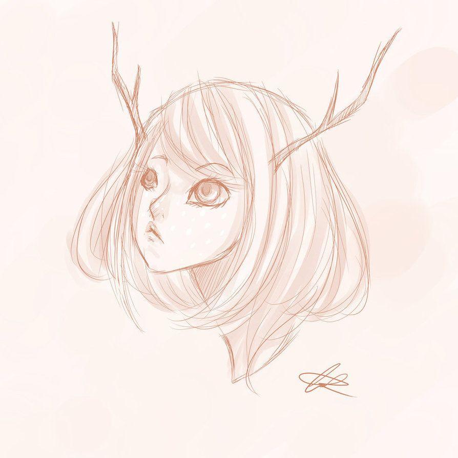 My Deer Child by animeweirdoneedslove