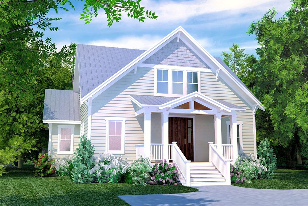 Plan 15230nc Country Cottage With Upstairs Bunk Room In 2021 Cottage Style House Plans Country Cottage House Plans Craftsman Bungalow House Plans