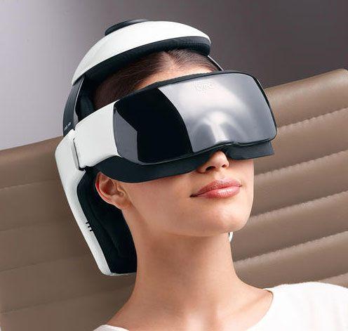 Breo iDream3 Eye and Head Massager | Breo, Head massage, Air pressure