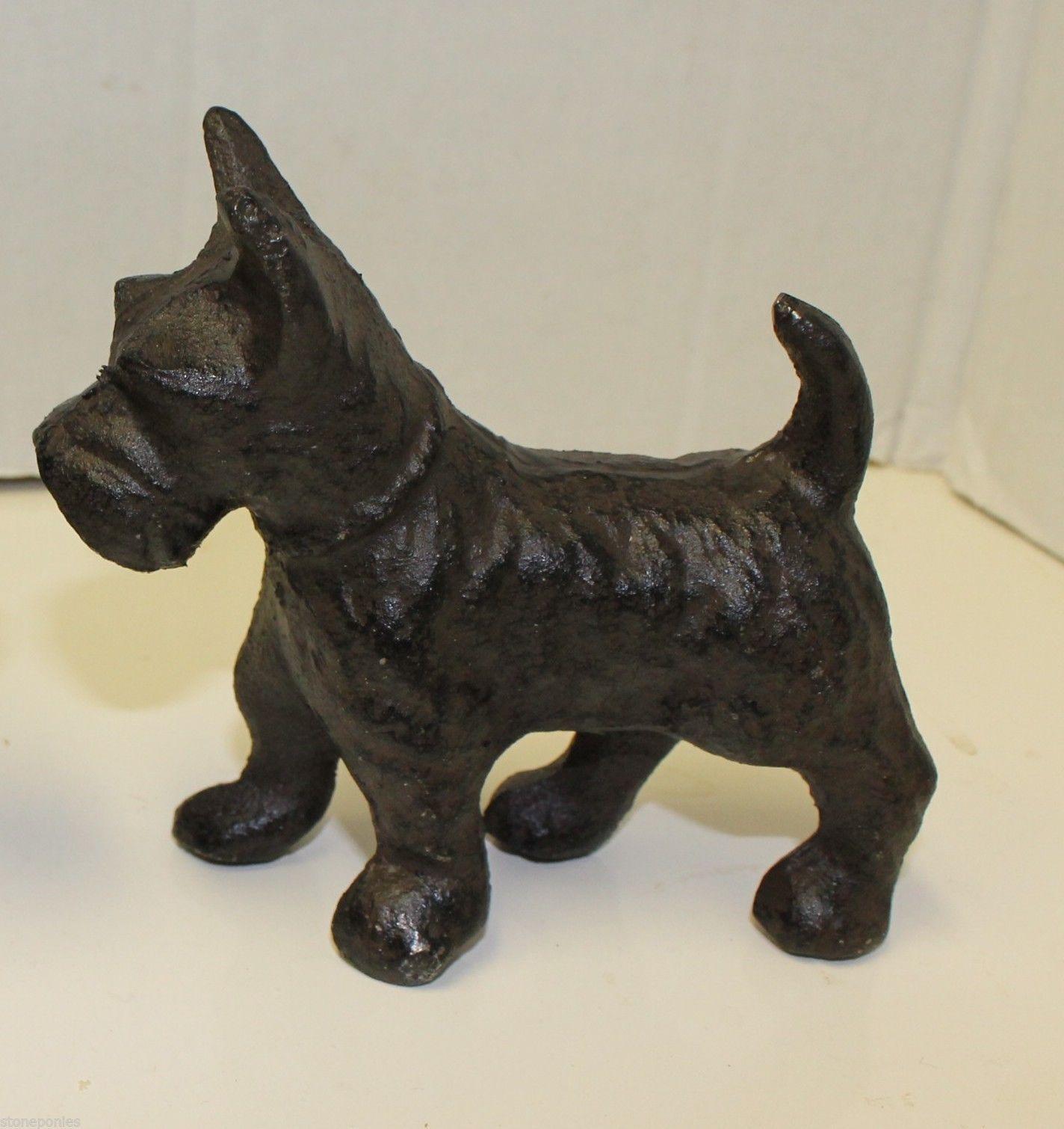 Design Toscano Iron Terrier Doorstop and Bookend