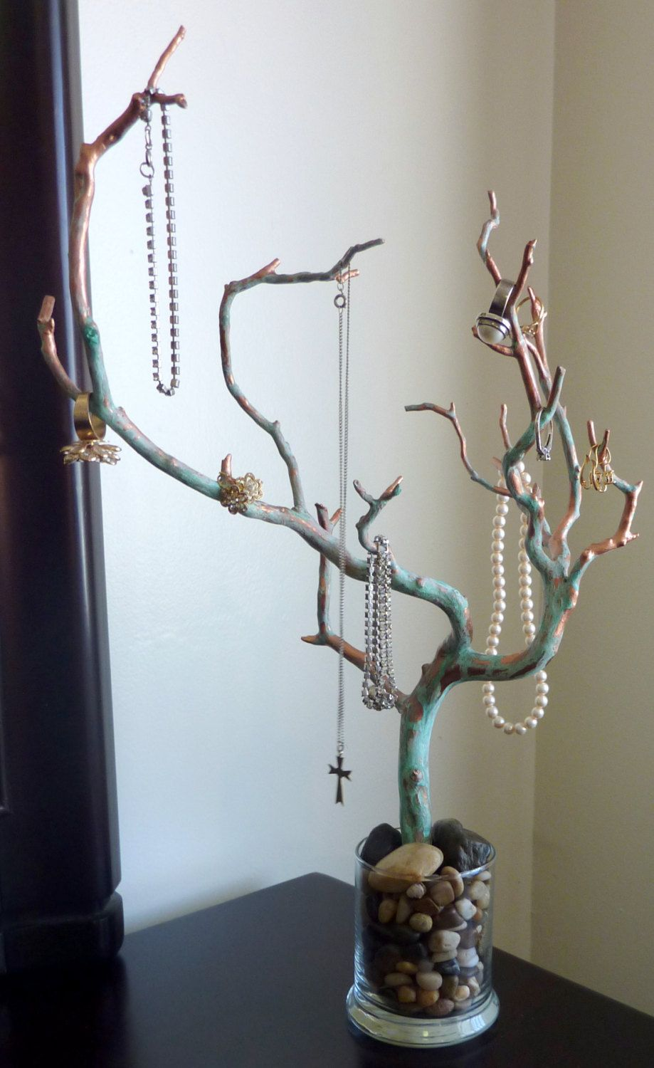 Jewelry Tree Manzanita Rusted Copper Jewelry Display Jewelry