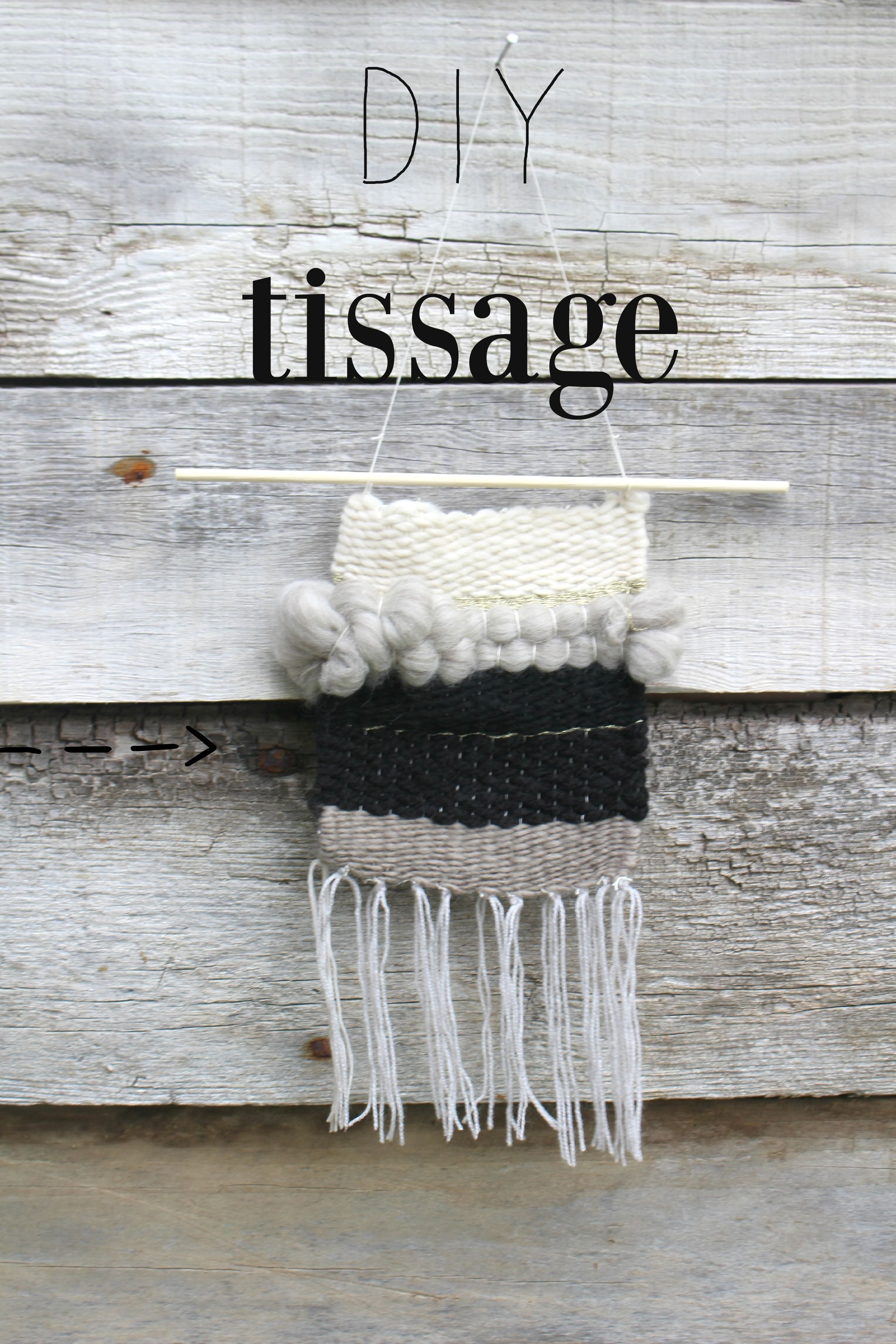 apprendre  u00e0 tisser  diy tissage by woodhappen