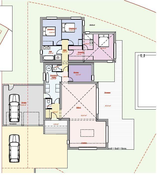 VENUS 140 \u2013 Les villas Modernes Plan maison Pinterest Venus