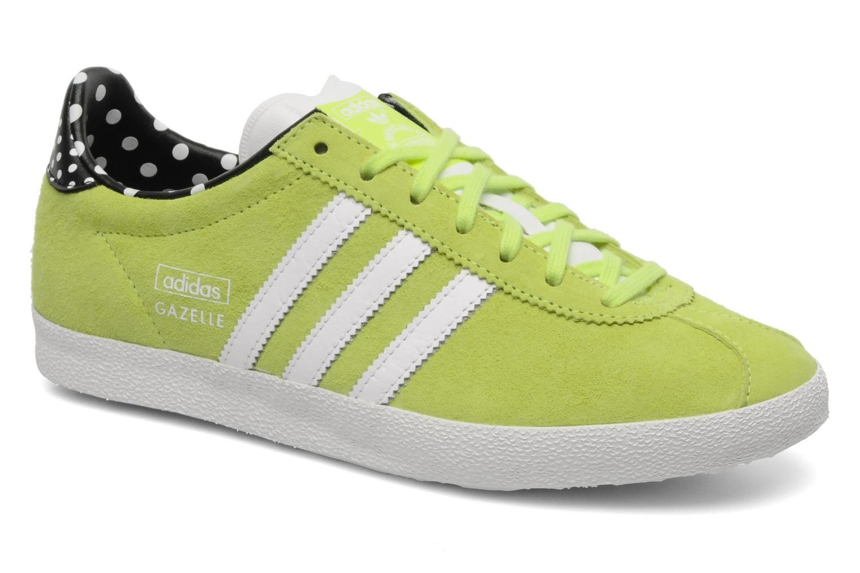 separation shoes 37b01 0f7a0 Baskets Og Sarenza W Originals jaune Ef Gazelle Adidas Chez