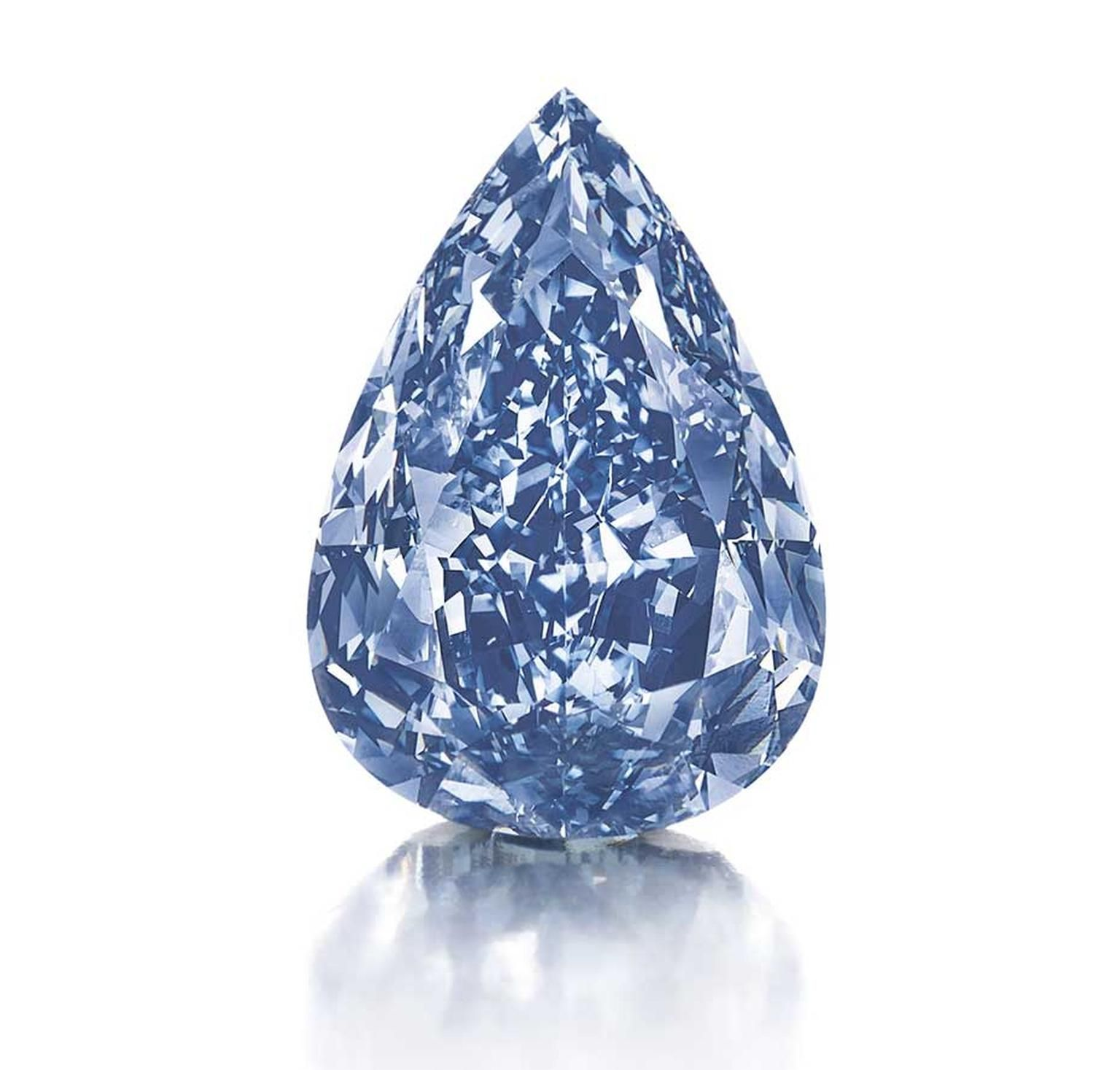 WinstonBlue Harry Winston bought the 13.22 carat blue diamond at Christie's auction in Geneva in May this year for a cool $24 million