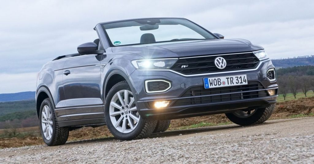 First Drive 2021 Vw T Roc Cabriolet Is Another Try At The Convertible Suv In 2020 Cabriolets Subcompact Suv Suv