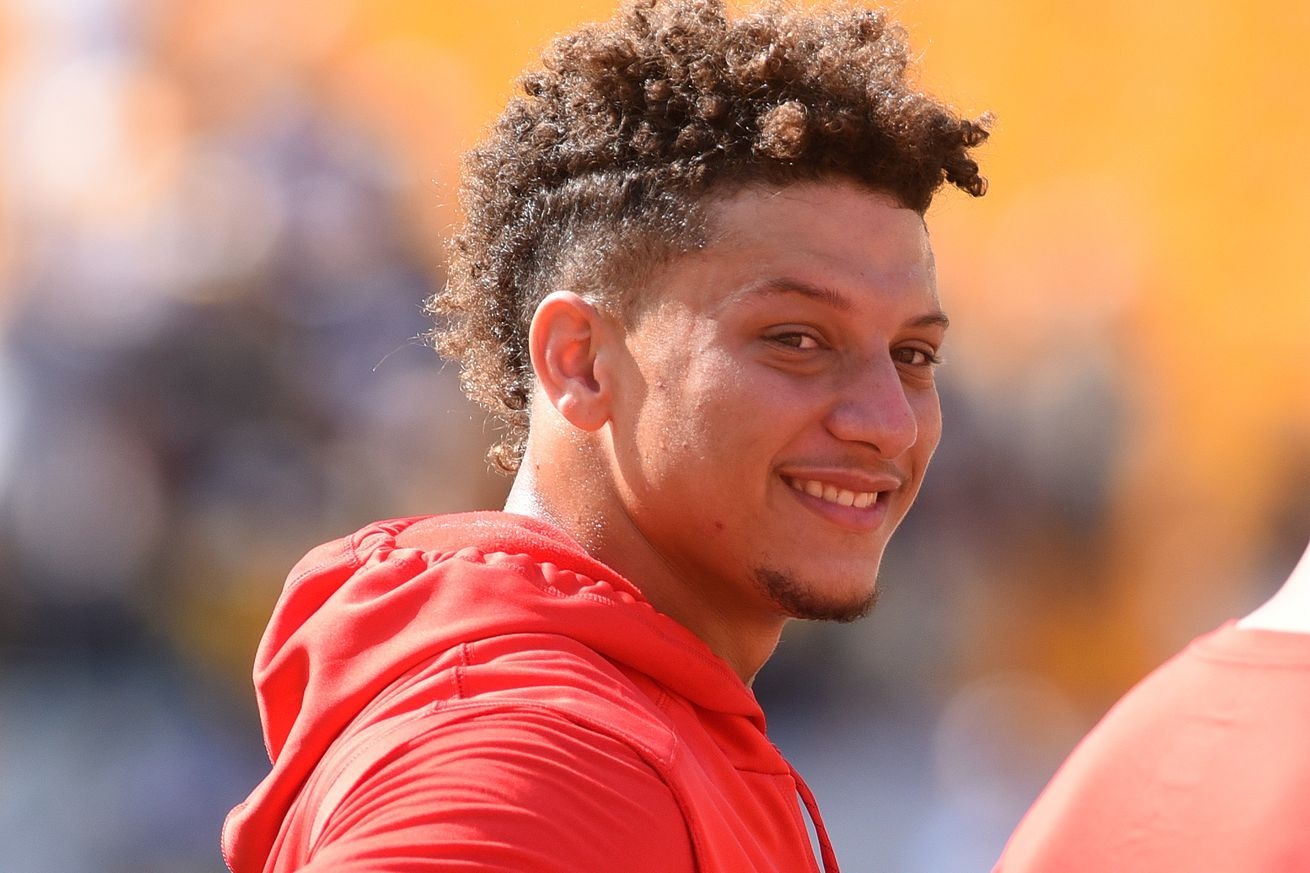 Grade This Impersonation Of Patrick Mahomes Kc Chiefs