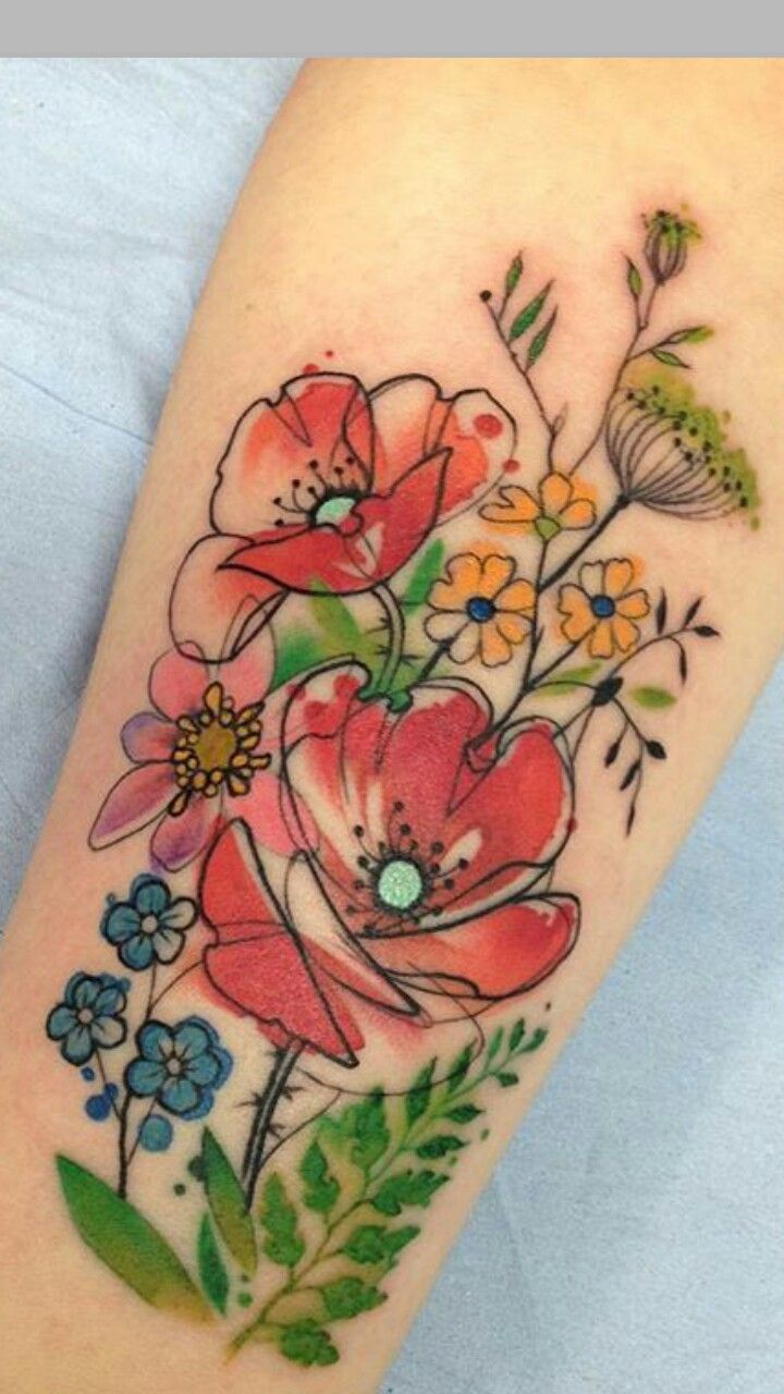 Pin by emily triebold on ink pinterest tattoo flower and flowers