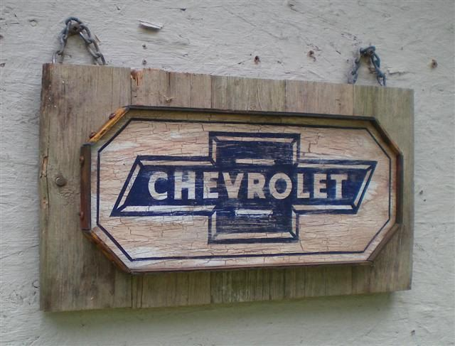 Vintage Style Chevrolet Sign By Retroroadvintagesign On Etsy