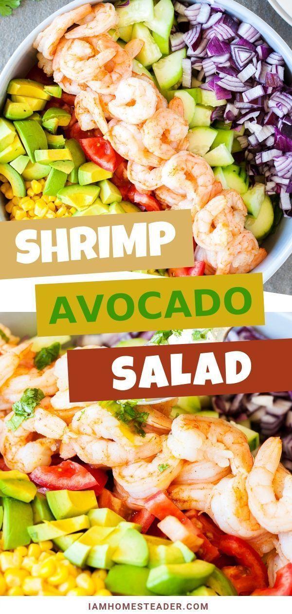 Shrimp and Avocado Salad images