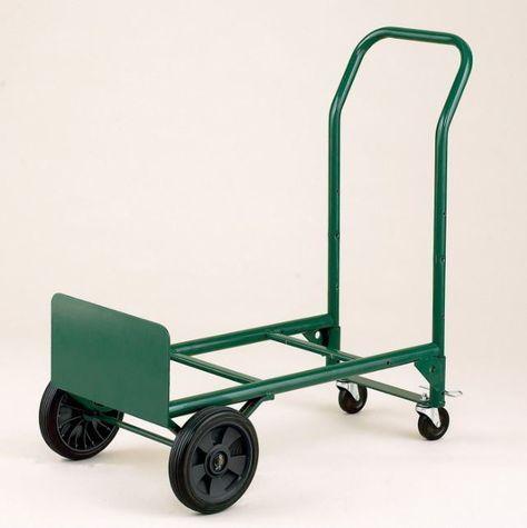 hand truck dolly convertible cart 400 lb capacity folding utility warehouse new