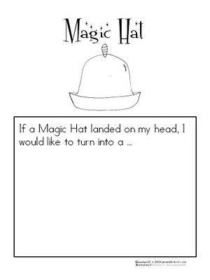New The Magic Hat Learning Unit And Free Download Book Response