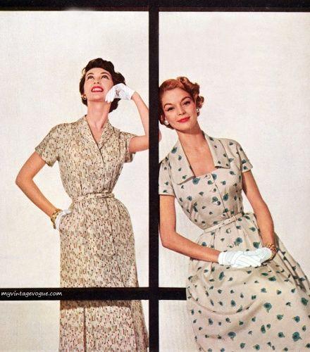 Dovima & Jean Patchett 1955