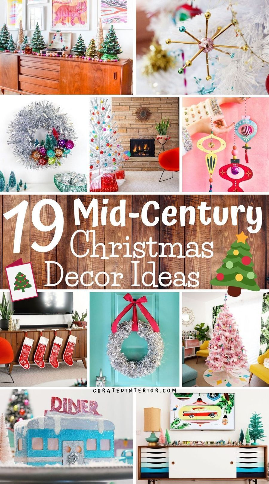 19 Mid Century Modern Christmas Decor Ideas Modern Christmas Decor Retro Christmas Decorations Mid Century Modern Christmas