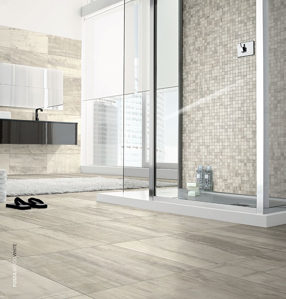 Wood Look Tile Bathroom Fossil Wood  Oregon Tile & Marble  Remodel  Pinterest  Marbles