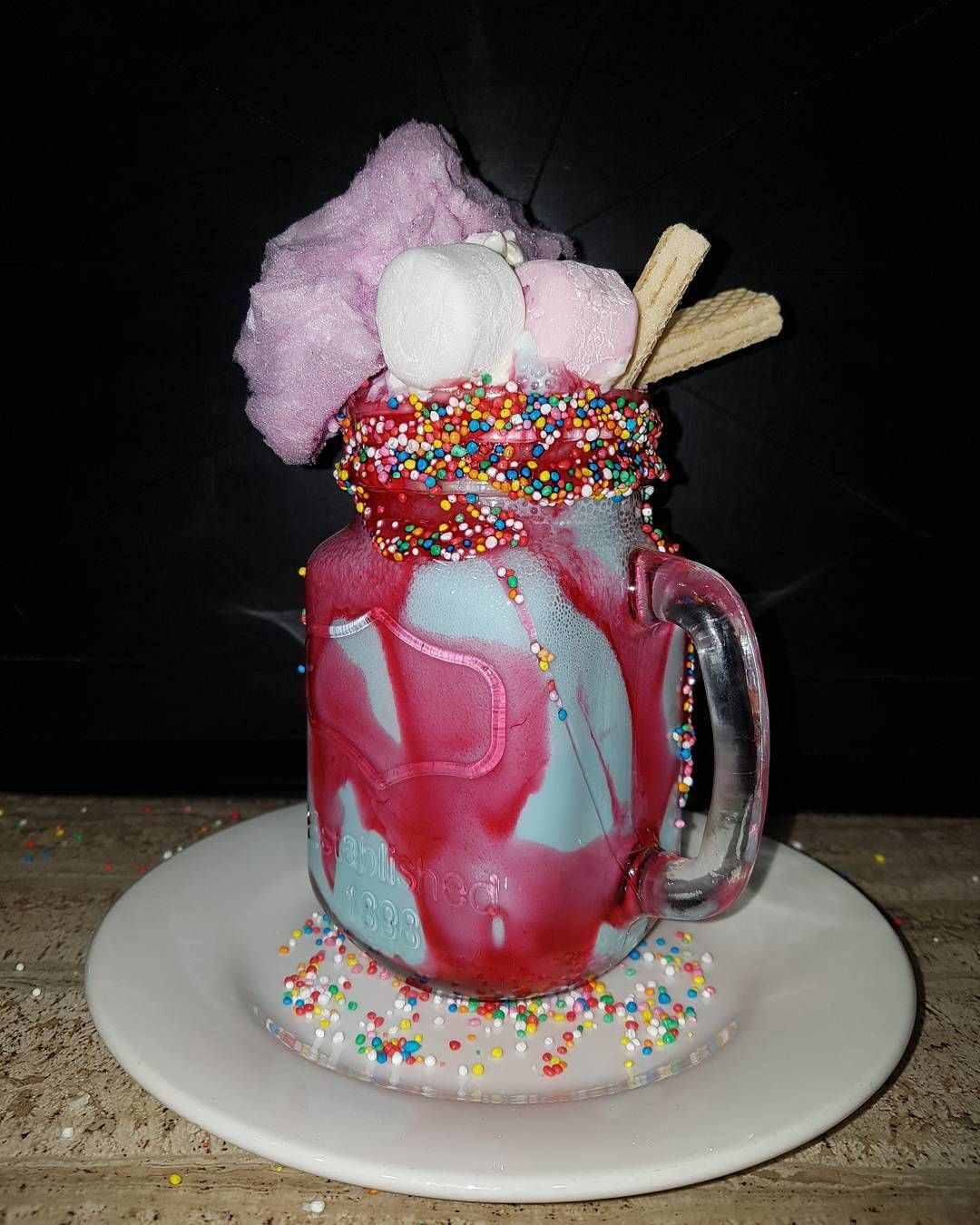 Image result for strawberry and marshmallow freakshake