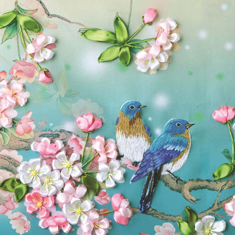 Silk Ribbon Embroidery Patterns Google Search Embroidery