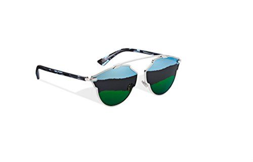 2b27827fccf Dior So Real SoReal A Blue Green Sunglasses 59 mm