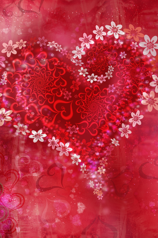 Beautiful Hearts Happy Valentines Day Love Hearts Happiness February Valentine Be Mine Always And Fo Heart Wallpaper Valentines Wallpaper Flower Heart