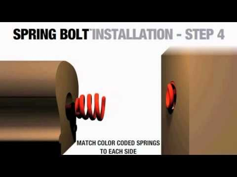 Best Spring Bolt Rail To Post Ends Connector Bán Lẻ 400 x 300