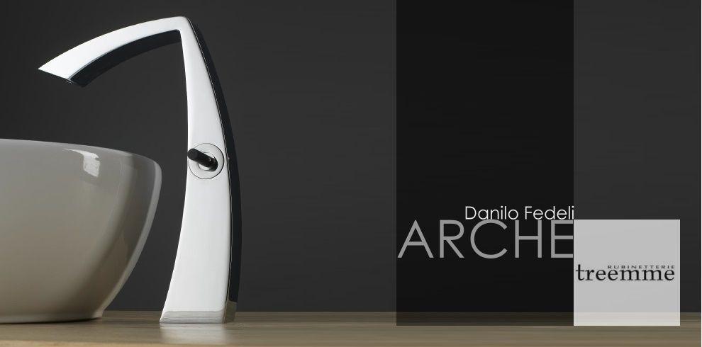 Armaturenserie Arche Treemme Designer Danilo Fedeli