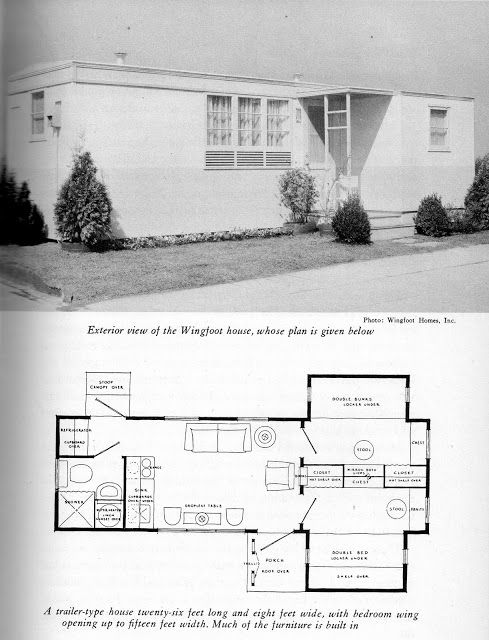 Vintage Mobile Homes Wingfoot Homes Mobile Home Living Mobile Home Living Mobile Home Vintage House Plans