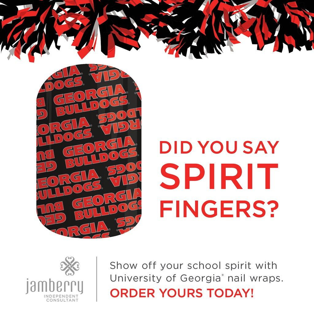 Take spirit fingers to a whole new level with Jamberry's