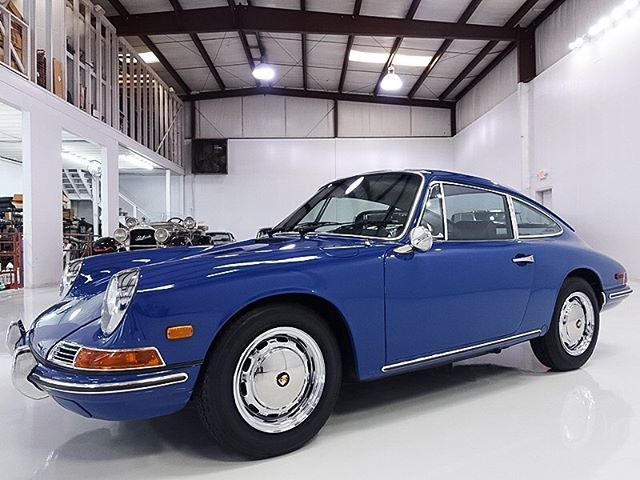 Restored Classic 1968 Porsche 912 Coupe by Karmann For Sale #Cadillacclassiccars